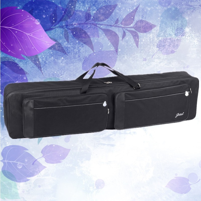 High grade 140cm wholesale 88 keyboard bag electric piano organ backpack synthesizer soft gig waterproof case portable straps high grade new wholesale professional portable tenor saxophone bag bb sax gig case waterproof backpack soft cover padded thicker