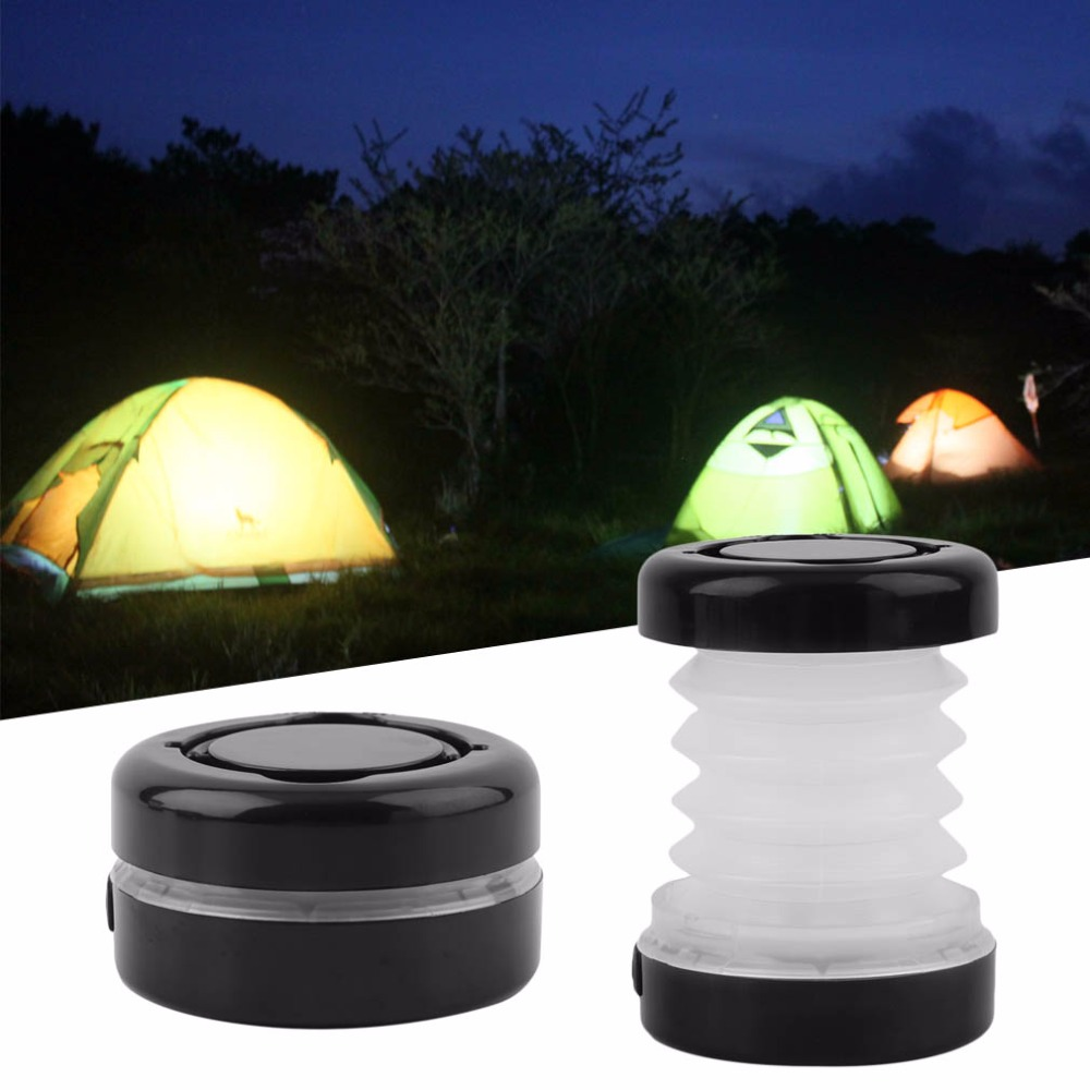 Promotion Multifunctional Scalable Tent Light Portable 5LED Camping Tent Lantern Outdoor Fishing Bivouac Lamp Folded LED Light