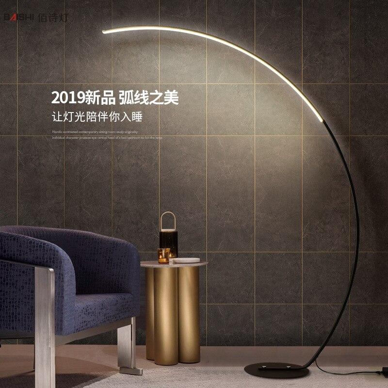 Nordic Fish Design Free Standing Lamps