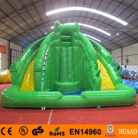 Commercial Giant Inflatable Water Slide with Pool and CE blower