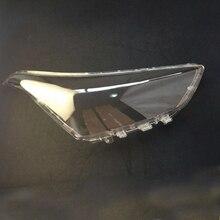 אהיל פנס מנורת כיסוי עדשת מנורת הגנת מקרה פנס זכוכית כיסוי עבור יונדאי IX25 2015 2017 פנס שקוף