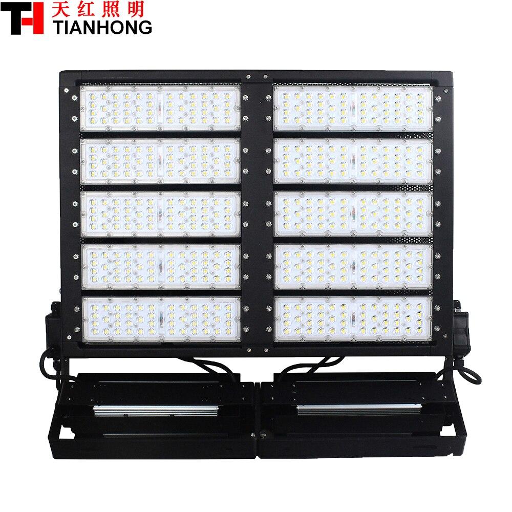 1000 W LED Haute Mât Lampe LED stade éclairage LED lumière d'inondation AC85-265V LED haute-pôle lamp1000W avec 138000lm
