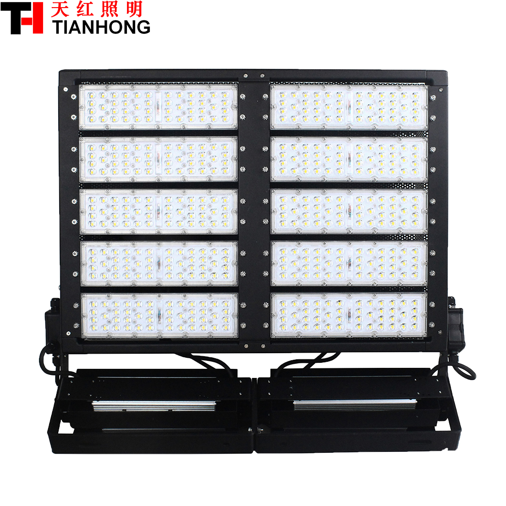 1000W LED High Mast Lamp LED stadium lighting LED flood light AC85-265V  LED high-pole lamp1000W with 138000lm ultrathin led flood light 200w ac85 265v waterproof ip65 floodlight spotlight outdoor lighting free shipping