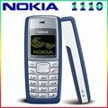 1110 Оригинальный Мобильный Телефон Nokia 1110 1110i Мобильный Телефон Разблокирован дешевый Старый мобильный телефон Классический Телефон Гарантия 1 Год бесплатная доставка