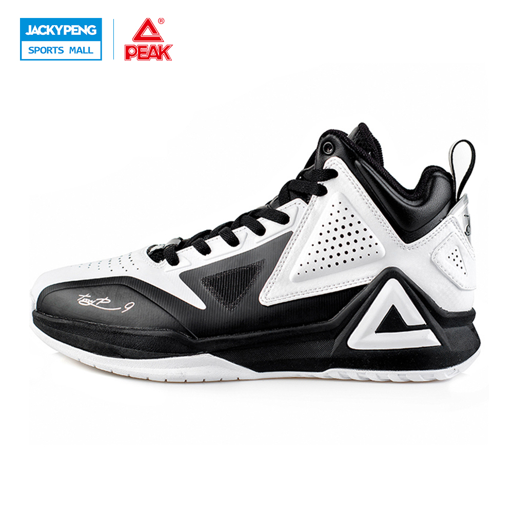 PEAK SPORT Tony Parker I Professional Player Basketball Shoes Boots Gradient Dual FOOTHOLD Tech Men Athletic Sneakers EUR 40-50 peak sport star series george hill gh3 men basketball shoes athletic cushion 3 non marking tech sneakers eur 40 50