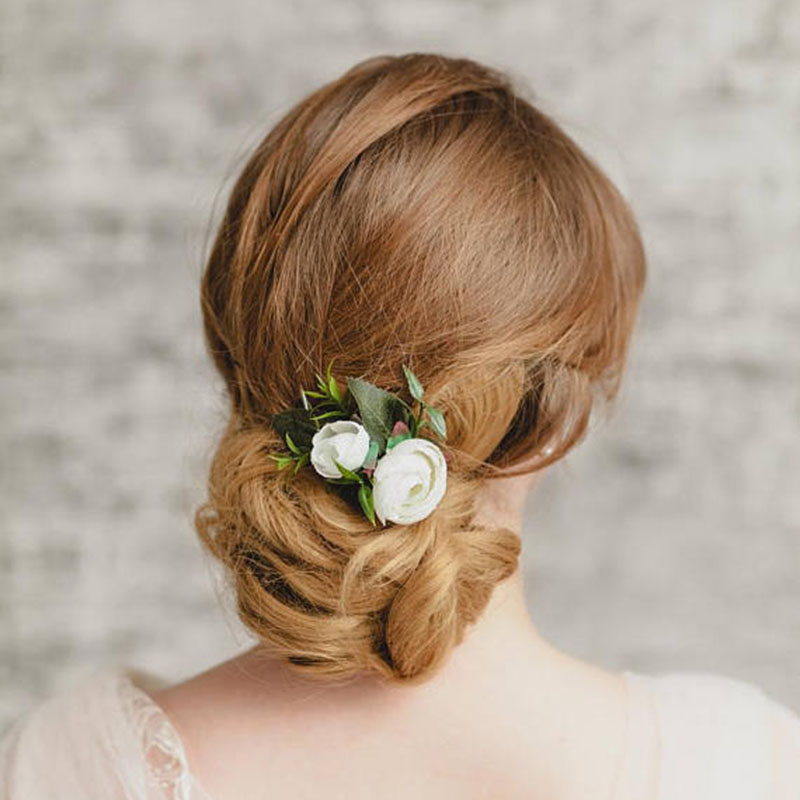 DIY Handmade Hair Jewelry For Women Bridal Fashion Dress Jewellery Accessories Hair combs Femme Wedding Party Birthday Pins