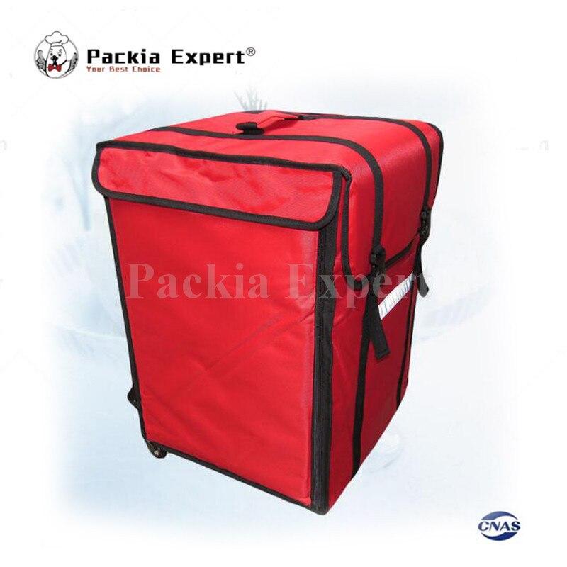 12-14 pouces 69L 39*39*56 cm sac à dos sac d'isolation, emballage alimentaire livraison pizza livraison sac pizza livraison sac emporter nourriture