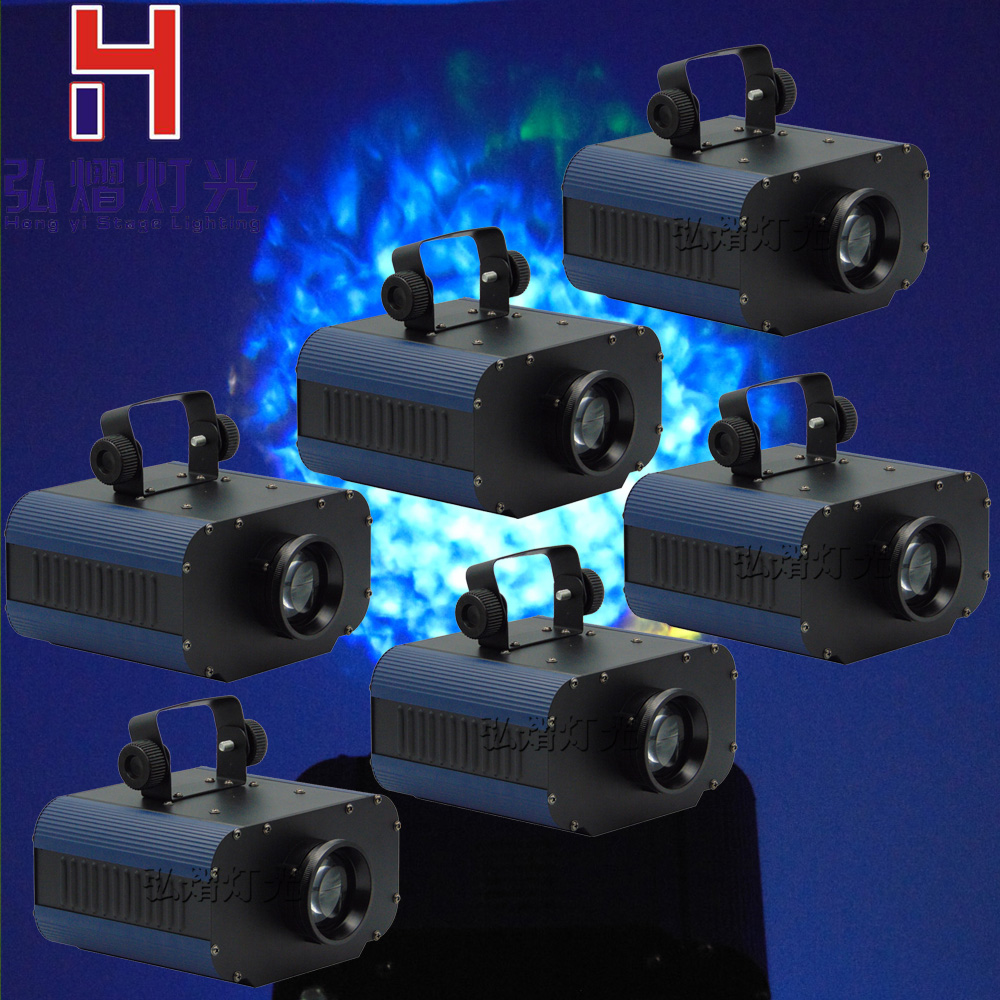 цена 6pcs/lot 1*30W white color led lamp Stage Lighting Effect Projector Light DJ Dance Bar Xmas Party Disco Show Lights