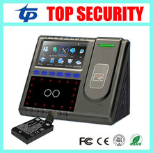 Biometric face recognition time attendance and access control with back up battery TCP/IP USB communication with free software