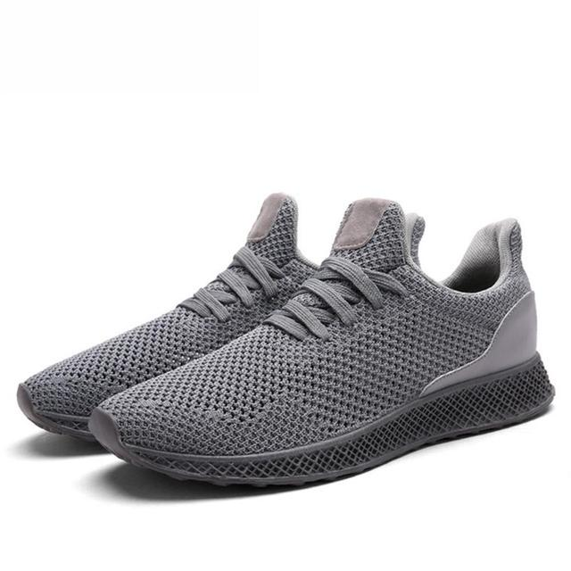 ccb3aade5b1 2018 new Designed Fly Weave Men's Casual Shoes Future Theory Male  Breathable Lace Up Leisure Chaussure Shoes