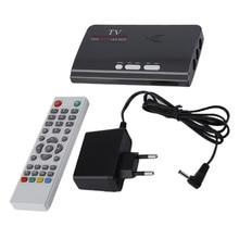 1080 P DVB-T/T2 Caixa De TV VGA AV CVBS Digitale Terrestre Tuner Receiver Com Controle Remoto HUB de Alta-definição VGA Caixa de TV DVB-T2