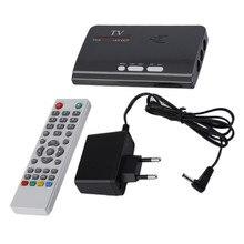 1080P DVB-T/T2 TV Box VGA AV CVBS Tuner Receiver With Remote Control Digitale Terrestrial HUB High-definition VGA DVB-T2 TV Box