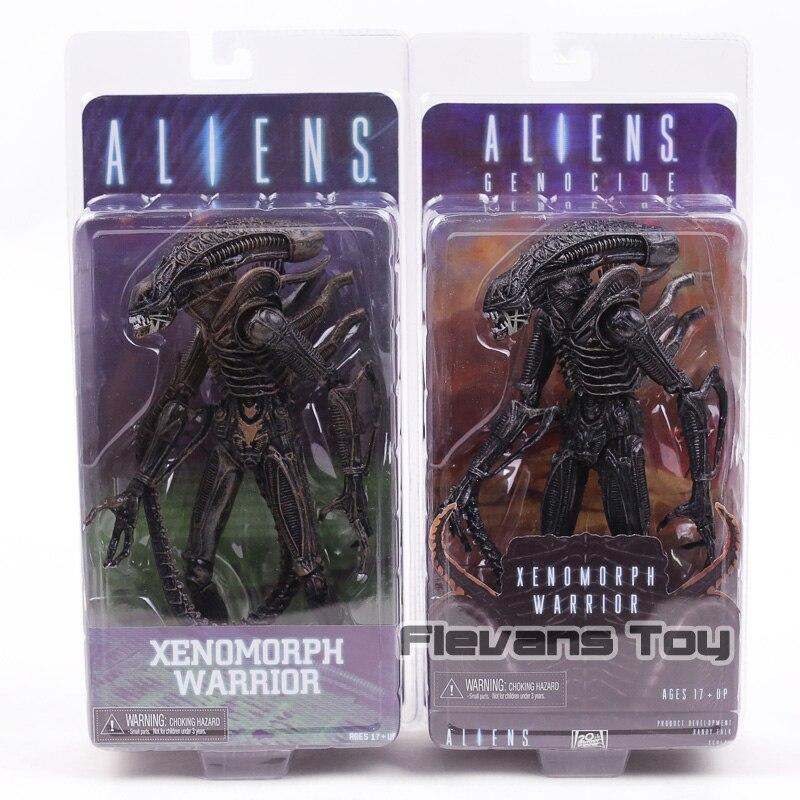 Aliens Genocide Xenomorph Warrior PVC Action Figure Alien Collection Model Figurine Toy фигурка aliens xenomorph warrior arcade appearance 17 см