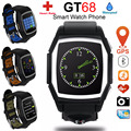 New GT68 Sports Heart Rate Smart Watch Camera GSM SIM Phone Waterproof Bluetooth GPS NFC Inteligente Smartwatch For Android IOS