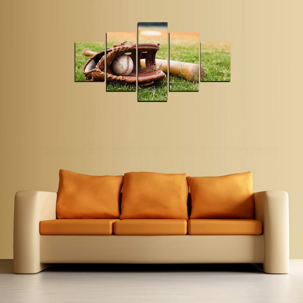 Contemporary Sports Canvas Wall Art Ensign - Wall Art Collections ...