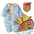 Primavera de Los Bebés de Los Mamelucos Del Mono Macacão Roupas Meninos Ropa Bebe Manga Larga Mameluco Del Bebé Recién Nacido Ropa de bebé Ropa Infantil