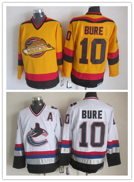 ... netherlands nhl throwback jersey vancouver canucks 10 pavel bure 1989  1994 ccm vintage authentic hockey jersey e4ea20395