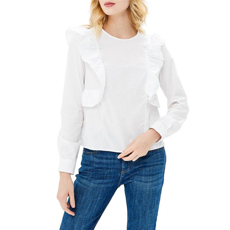 Blouses & Shirts MODIS M181W00370 woman blouse shirt blusas for female TmallFS женская футболка waqia 2015 t cueca blusas femininas 4
