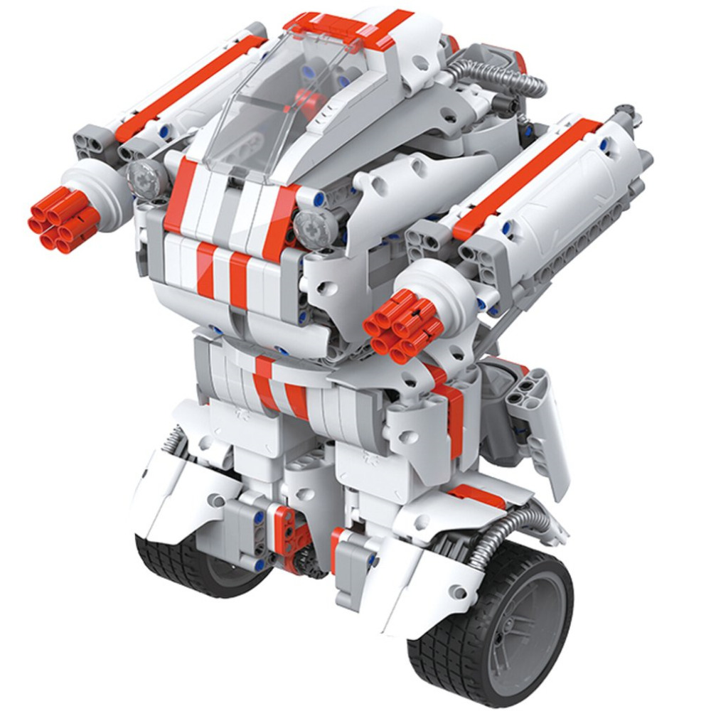 Funny Building Blocks Robot Bluetooth 2.4GHz Remote Control 978 Spare Parts Self-Balance System Mi Robot Toys for Children Gift ft007 01 hull remote control boat spare parts for feilun ft007
