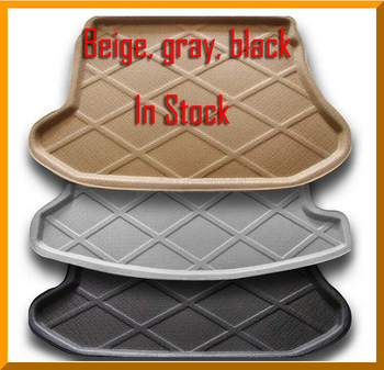 Trunk Tray Liner Cargo Mat Floor Protector foot pad mats For For Nissan LANNIA 2015 2016 2colors