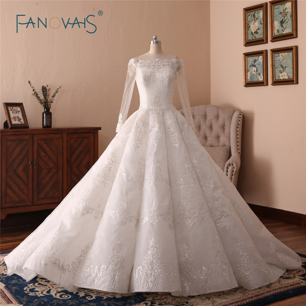 Aliexpress.com : Buy Luxury Wedding Dresses 2018 Long