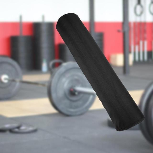 Штанги колодки приседания Вес подъема Foam шею плечевой протектор Поддержка Тренажерный Зал Pull Up инвентарь для захвата Вес s тренажерные коврики черный