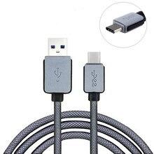 Type-C, чтобы USB 3.0 Тканая Сетка Кабель USB С Кабелем Передачи Данных 3.1 и зарядный кабель для samsung nokia lenovo lg ltv usb тип c 1 шт.