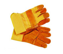 Free transport Western Style Size 10.5″Cow cut up Safety Protect Leather working glove in several colours with aggressive value