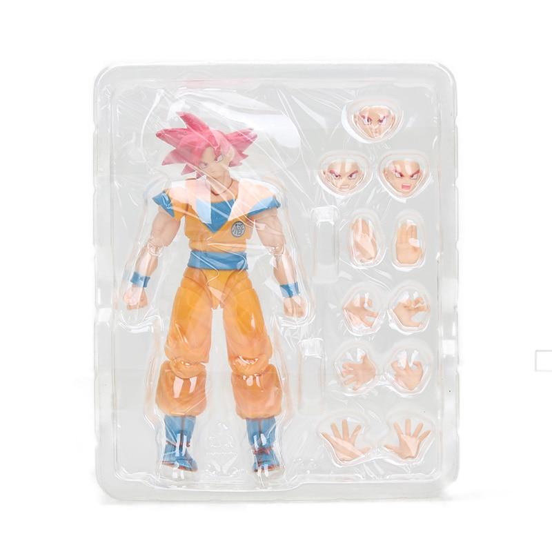 Dragon Ball Z Action Figure Gohan Goku Vegetto Vegeta Trunks Piccolo Freeza 18 with rotating joints 10