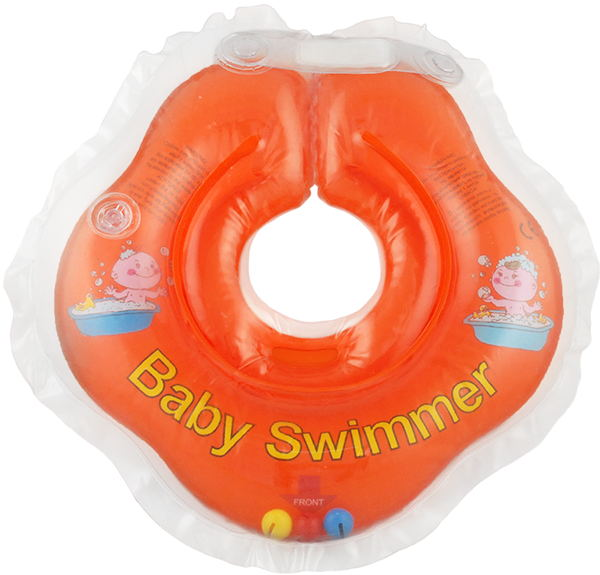 Children's neck swimming ring Baby Swimmer BS02O-B inflatable children swimming ring seat pool floating boat