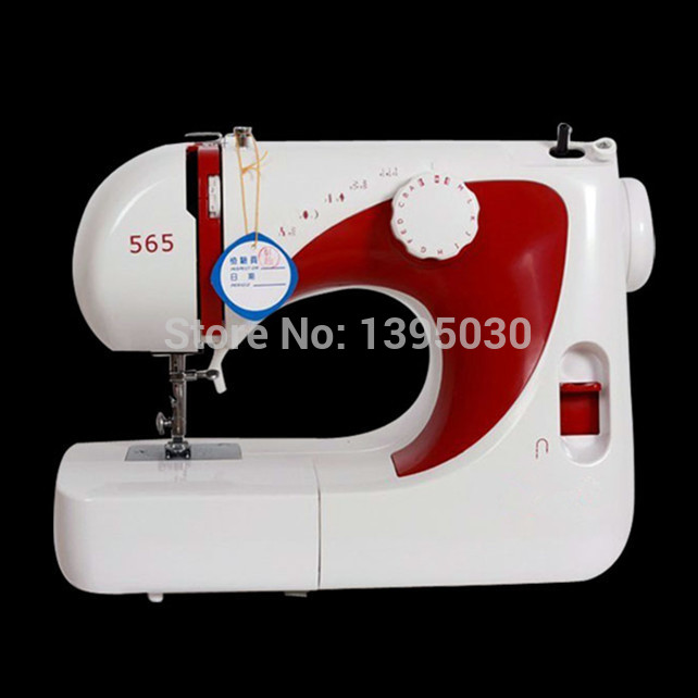 1PC 220V Multi-function 565 Electric Household Sewing Machine Desktop Overcastting Thick 1pc multi function 565 electric household sewing machine desktop overcastting thick