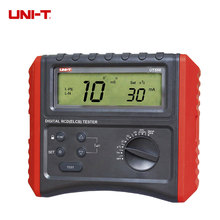UNI-T UT586 Digital RCD (ELCB) Testers Leakage Protection Switch Tester RCD Measure AC Voltage Test uni t ut315 digital vibration testers vibrograph vibrometer w acceleration velocity displacement test
