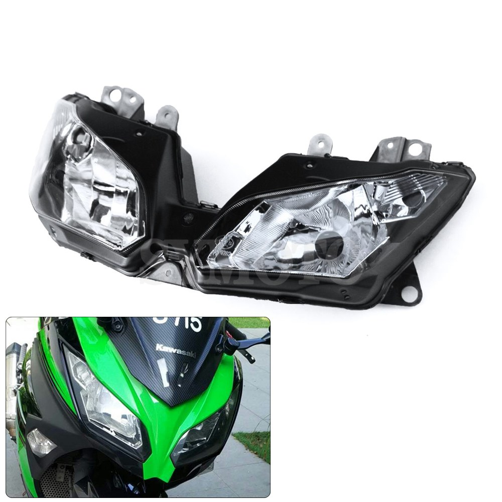 Motorcycle Front Headlight Headlamps Assembly For KAWASAKI ZX300R EX300R NINJA 300 2013-2015 VERSYS 650 1000 2015-2016 Ninja250