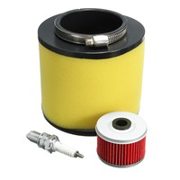 Air Filter Oil Filter For Spark Plug Kit For Honda Fourtrax 300 2x4 And 4x4 TRX300