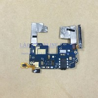 JEDX Original For HTC ONE Mini M4 Main Motherboard With Earphone Audio Jack Flex Cable Power