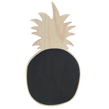Nordic Decoration Home Mini Hanging Wooden Pineapple Small Blackboard Wooden Message Board Creative Crafts Kids Room Decoration