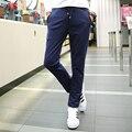 2016 просто мода комфортно дышащая молодежные популярные повседневные брюки хлопка большой ярдов многоцветной дополнительно
