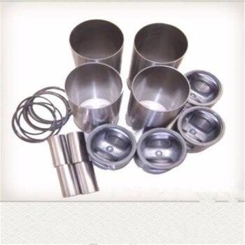 Piston + Cylinder sleeve + Piston ring + Piston pin + Circlip of piston pin, Yituo YTO Yangdong engine 485T, YND485Q фото