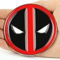 EUA Banco de Alta Qualidade Marca Mens Do Vintage Ocidental Fivelas de Cinto Deadpool Apenas New Cosplay Alta Qualidade Frete Grátis