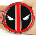 US Stock High Quality Brand Mens Vintage Western Deadpool Belt Buckles Only New High Quality Cosplay Free Shipping