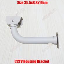 L Type 36 cm CCTV Behuizing Beugel Muur Plafond Mount Kabel Bescherming Aluminium Outdoor Stand voor Security Camera door excelax