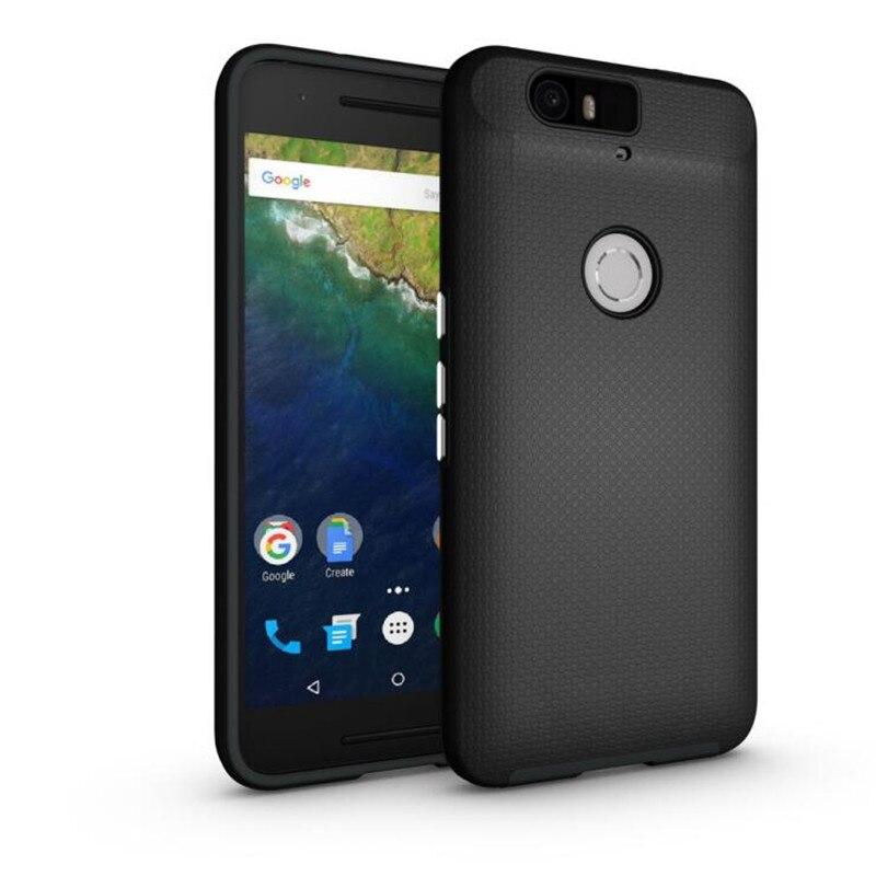 For Google Nexus 6P Case Anti-knock TPU&PC Plastic Dual Heavy Duty armor Shield Cover For Google 6P Mobile Phone