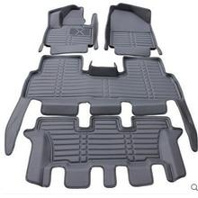 Хорошее качество! Специальные автомобильные коврики для KIA Sorento 7 мест водонепроницаемые ковры для Sorento