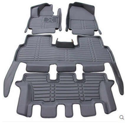 Awesome Special Floor Mats For KIA Sorento 7seats 2018 2015 Waterproof Rugs Durable
