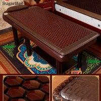 High Quality Heated Beauty Sofa Mattress Hexagonal Germanium Stone Mat Health Care 0 6X1 9M