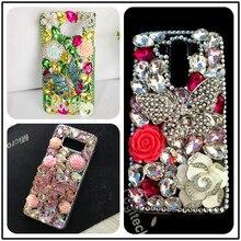 Роскошные блестящие Чехлы «сделай сам» с 3d изображением бабочек и кристаллов для Huawei P10 P20 P30 P40 Lite Pro Mate 20 Lite 20 Pro 10 Lite, чехлы