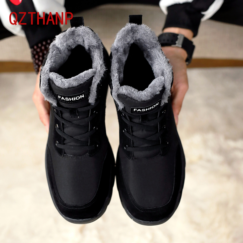 High Quality Winter Ankle Boots Warm Casual Shoes Men Comfortable Safety Shoes Male Tenis Adult Krasovki Zapatillas Deportivas