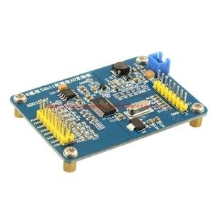 Image 2 - Ücretsiz kargo ADS1256 24 bit AD ADC modülü yüksek hassasiyetli ADC veri toplama kartı