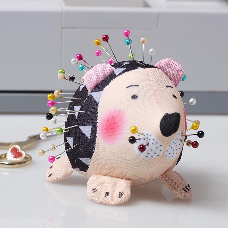 Hedgehog Shape Soft Fabric Pin Cushion Quilting Pin Holder Sewing Craft Tool DIY