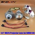 Para BMW Série 3 E46 ZKW OEM MD2S ESCONDEU Bi-xenon Lente do projetor Kit Farol Substituição Retroquick Q5-R 1998-2005 Hi/Low LHD RHD